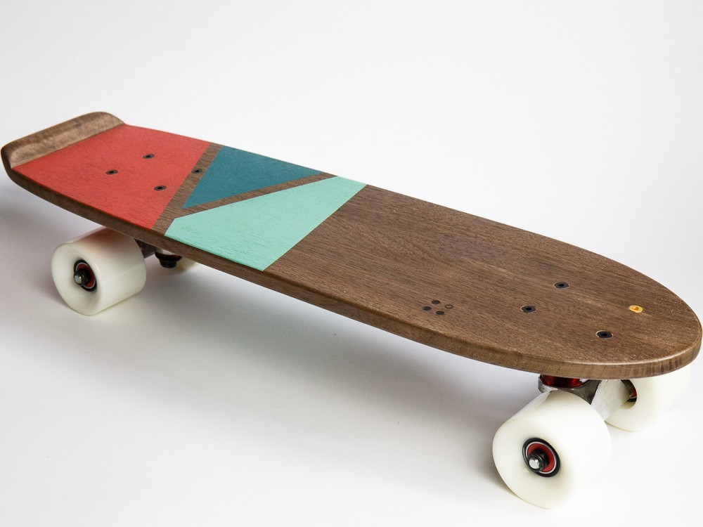 The Special Walnut Skateboard