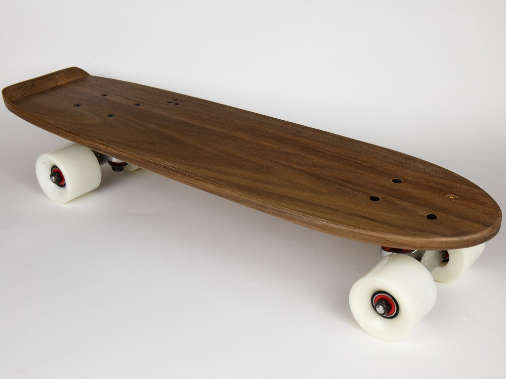 The Classic Walnut Skateboard